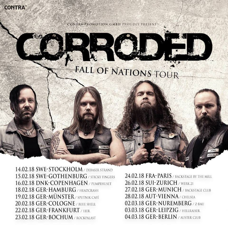 CORRODED on Tour