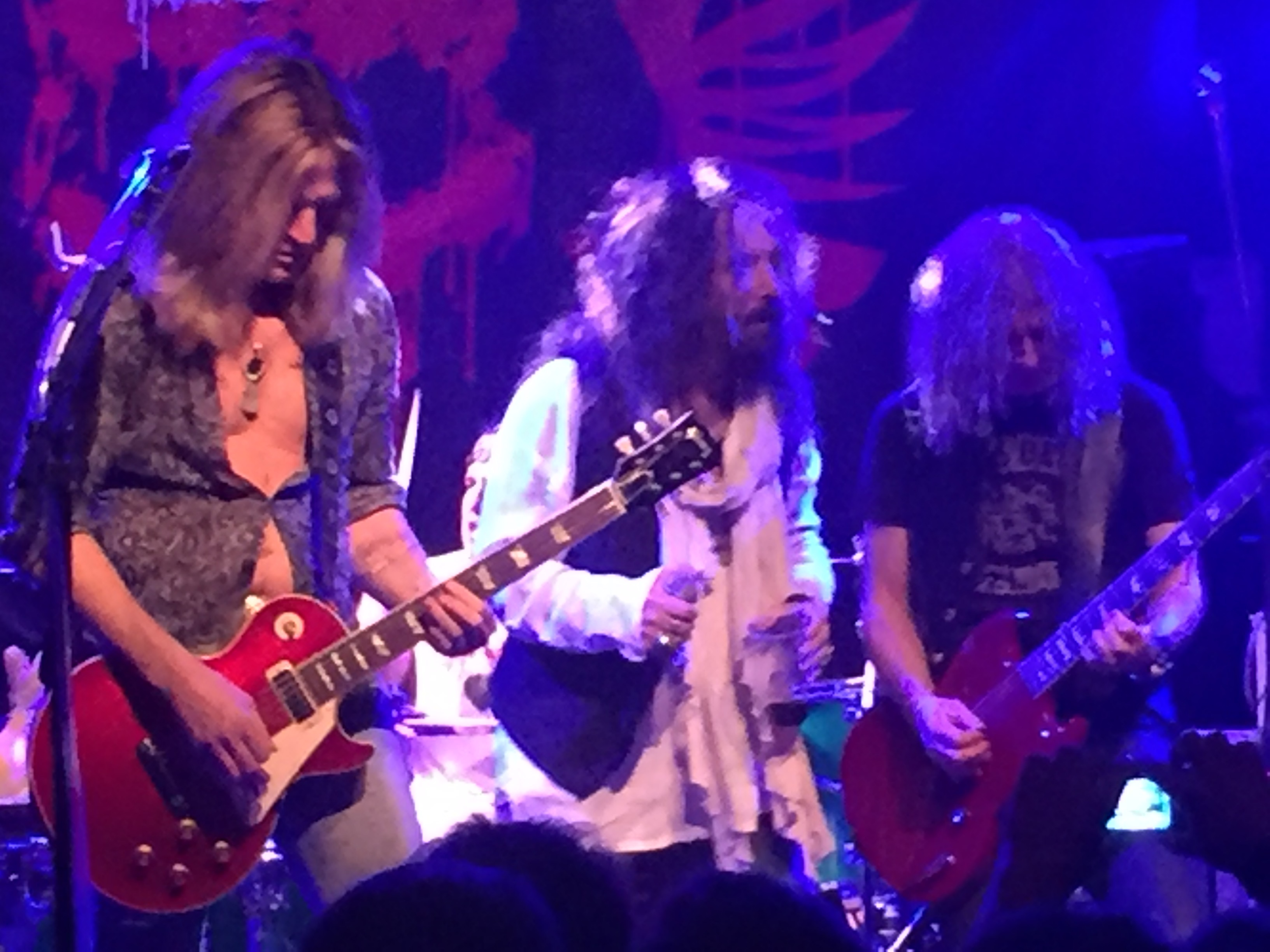 THE ANSWER, THE DEAD DAISIES @ Hamburg, Knust - 03.12.2016