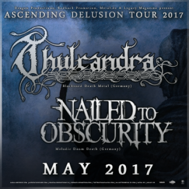 THULCANDRA & NAILED TO OBSCURITY