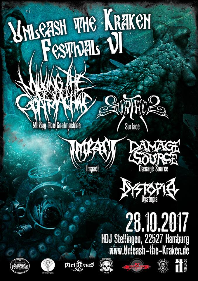UNLEASH THE KRAKEN – Metalfestival in Hamburg