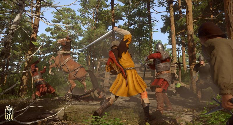 Kingdom Come Deliverance Screenshot 12 marshland fight