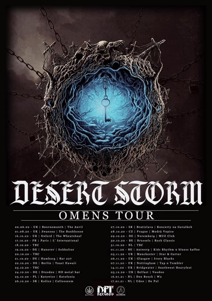 Desert Storm new dates 2020