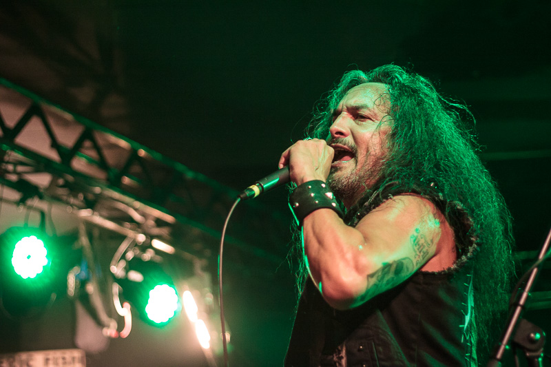 DEATH ANGEL & EVIL INVADERS & FREIGHT TRAIN RABBIT KILLER @Cham, L.A. - 15.06.2019