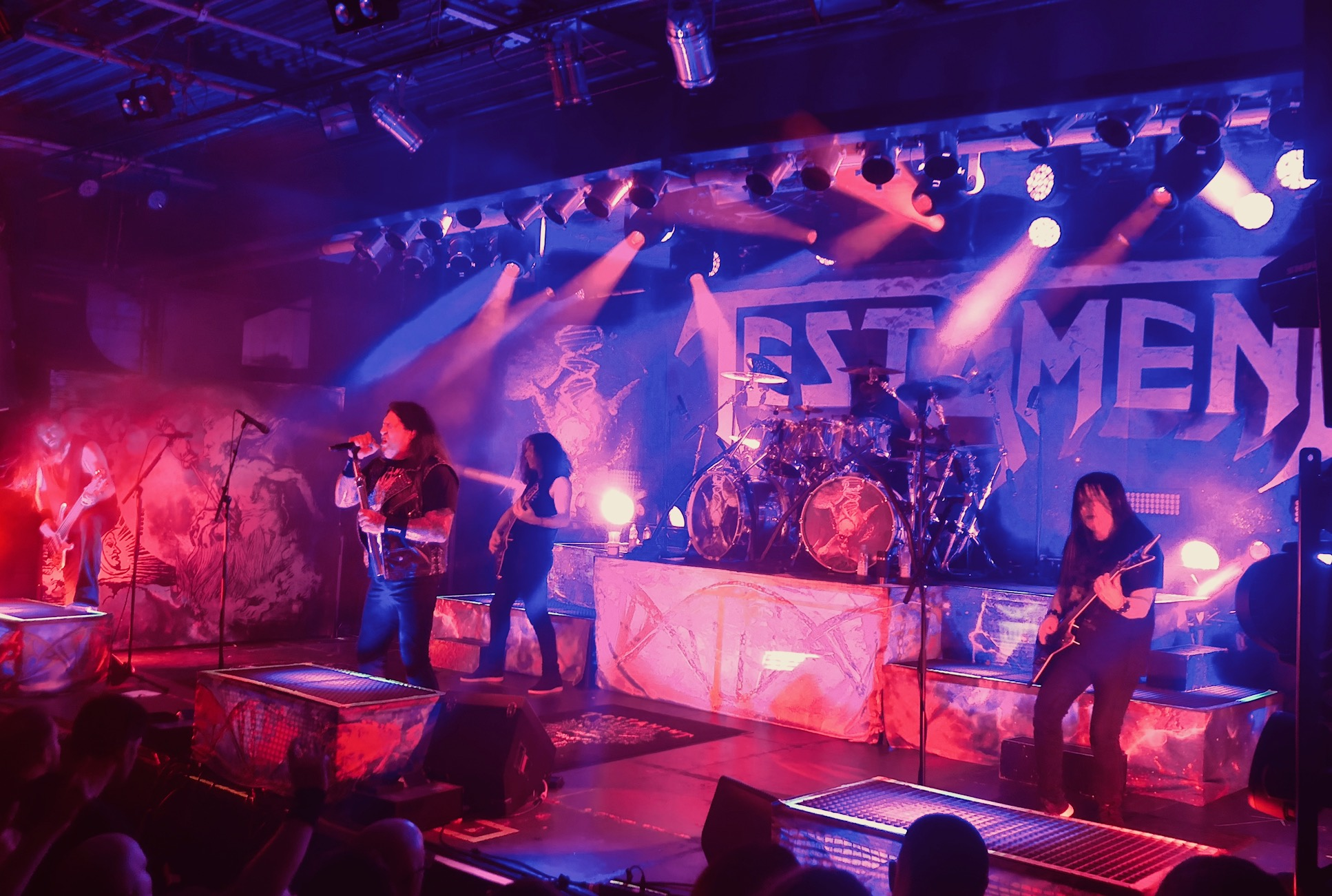 DEATH ANGEL, EXODUS, TESTAMENT – MÜNCHEN, BACKSTAGE WERK – 21.02.2020