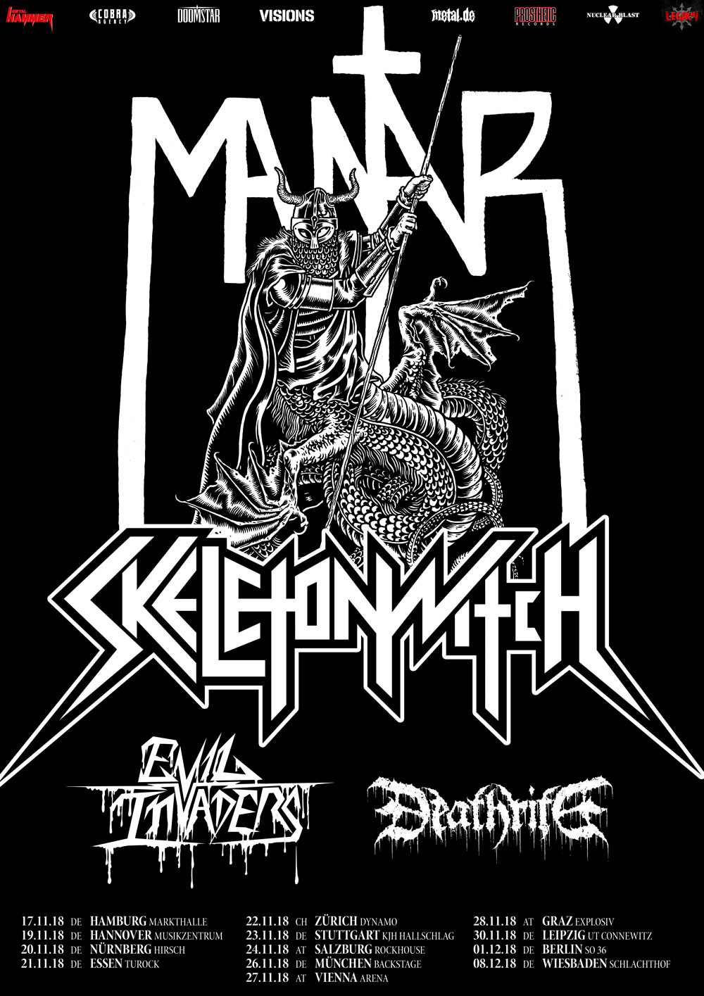MANTAR & SKELETONWITCH