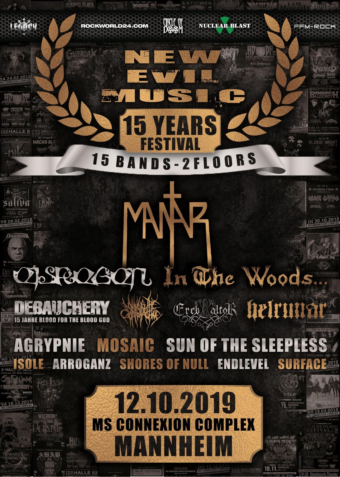 15 YEARS NEW EVIL MUSIC FESTIVAL