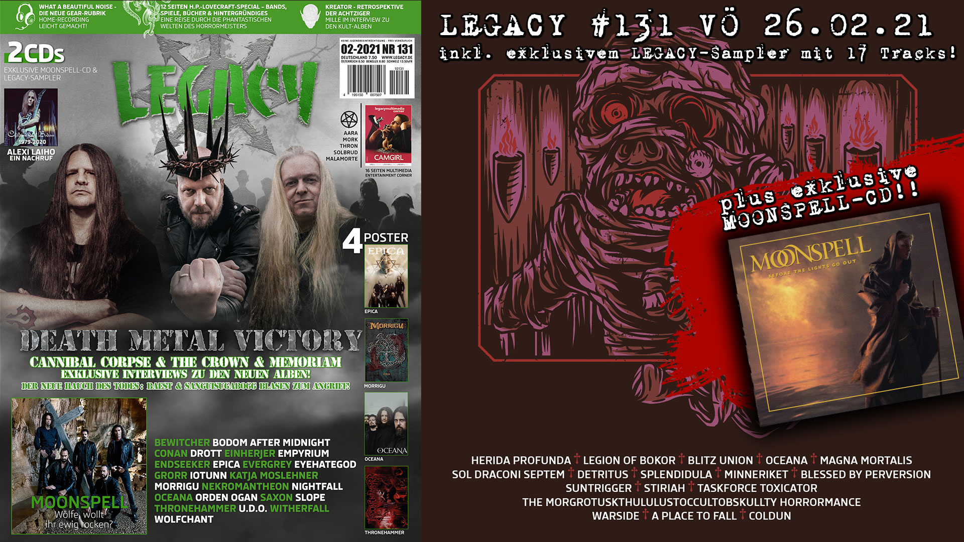 LEGACY #131 out 26.02.2021