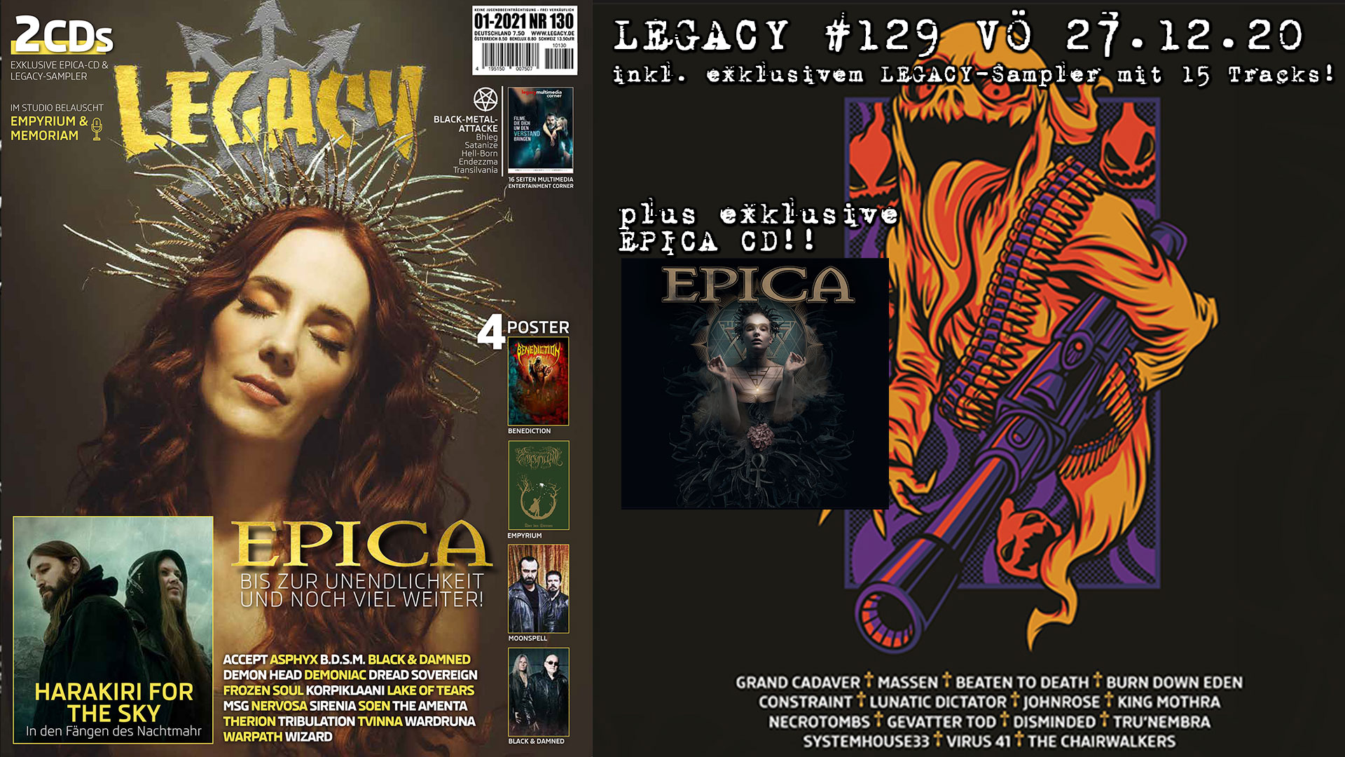 LEGACY #130 out 27.12.2020