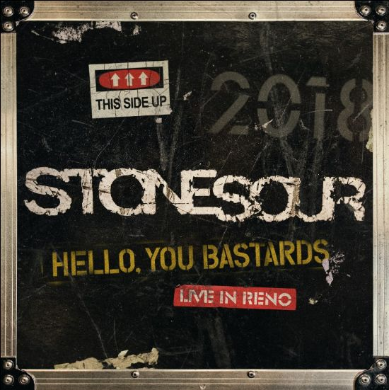 Am 13.12.19 erscheint STONE SOUR - Hello, You Bastards: Live In Reno
