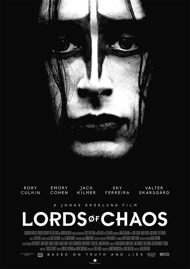 LORDS OF CHAOS ab heute auf DVD & Blu-ray