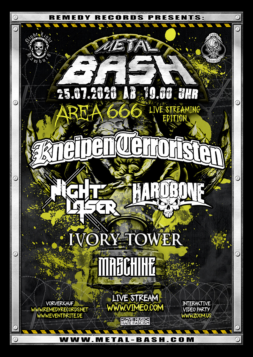 METAL BASH: Live-Stream am 25. Juli