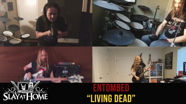 Allstars covern Entombed A.D. aus dem Lockdown - Video online